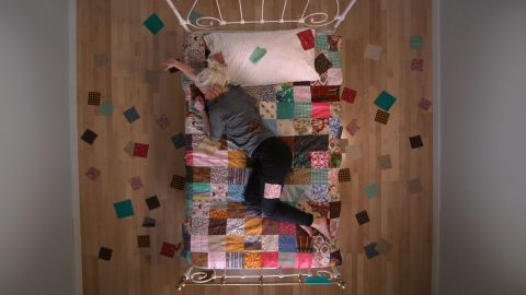 square 01-overhead quilt